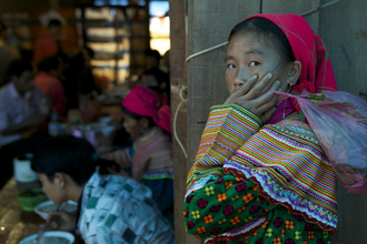 Christina Feldt, Girl in Sapa, Northern Vietnam. (Vietnam, Asia)