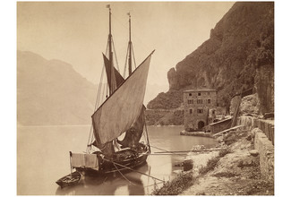 Süddeutsche Zeitung Photo, Segelschiff am Gardasee (Italy, Europe)