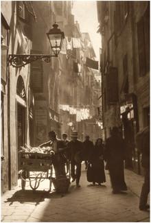 Süddeutsche Zeitung Photo, Gasse in der Altstadt (Italien, Europa)