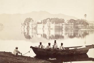Süddeutsche Zeitung Photo, Palast im Pichola-See (Indien, Asien)