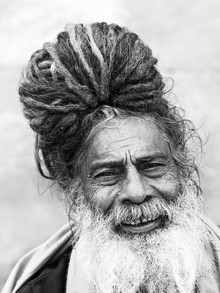 wise sadhu - Fineart photography by Jagdev Singh