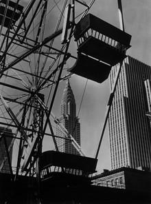 Süddeutsche Zeitung Photo, Blick auf das Chrysler Building und das Gebäude der Daily News (United States, North America)