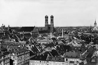 Frauenkirche in München - fotokunst von Süddeutsche Zeitung Photo