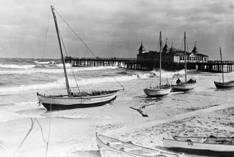 Süddeutsche Zeitung Photo, Strandbad von Ahlbeck auf Usedom (Deutschland, Europa)