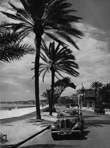 Süddeutsche Zeitung Photo, Strandpromenade von Nizza (Frankreich, Europa)