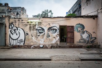 Eva Stadler, Three styles of street art, Havanna (Cuba, Latin America and Caribbean)