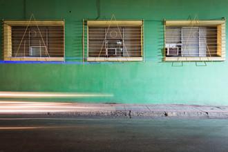 Eva Stadler, Green facade and headlights (Cuba, Latin America and Caribbean)