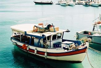 Kathrin Reiff, Harbor Heraklion (Greece, Europe)