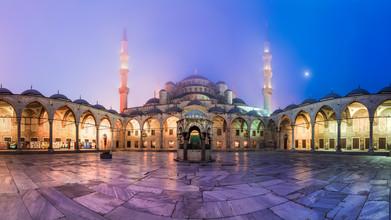 Jean Claude Castor, Istanbul - Sultan Ahmed I Moschee Panorama (Türkei, Europa)