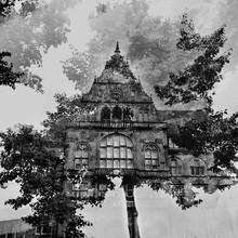 Altes Rathaus Bielefeld - fotokunst von Nadja Jacke