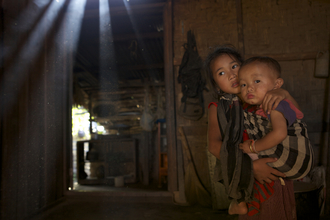 Christina Feldt, Children in Laos (Laos, Asien)
