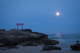Manuel Kürschner, Torii at full moon (Japan, Asien)