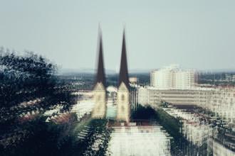 Nadja Jacke, Bielefeld - St. Marys's Church - multiple exposure (Germany, Europe)