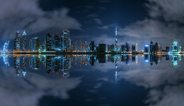 Jean Claude Castor, Dubai - Business Bay Panorama (United Arab Emirates, Asia)