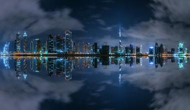 Jean Claude Castor, Dubai - Business Bay Panorama (Vereinigte Arabische Emirate, Asien)