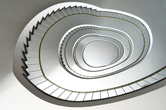 Solveig Faust, spiral staircase (Germany, Europe)