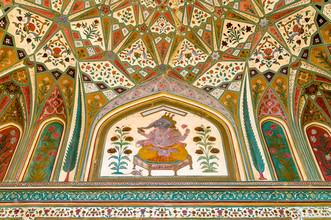 Ralf Germer, Ganesh Pol – Deckenmalerei des Eingangstores (India, Asia)