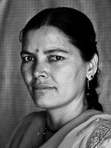 Jagdev Singh, indian lady (Indien, Asien)