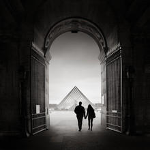 Ronny Behnert, La pyramide du Louvre (Frankreich, Europa)