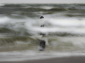 Sturmbuhne - fotokunst von Jens Rosbach