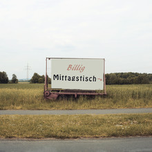 Billig Mittagstisch - Fineart photography by David Foster Nass