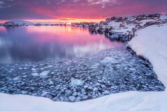 Markus Van Hauten, Winter at the lake (Iceland, Europe)