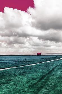 Susanne Kreuschmer, blue field house (Iceland, Europe)