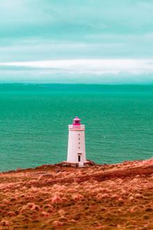 Susanne Kreuschmer, blue sea lighthouse (Iceland, Europe)