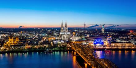 David Engel, Köln Skyline (Deutschland, Europa)