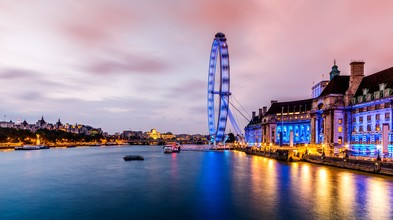 David Engel, London Eye und Themse (United Kingdom, Europe)