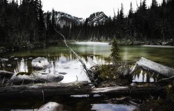 Max Bellefleur, Chemin de Glace (Kanada, Nordamerika)
