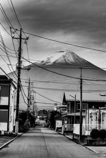 Mount Fuji - fotokunst von Michael Wagener