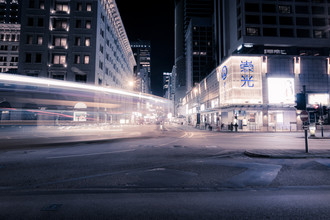 Hong Kong City Lights - Fineart photography by Heinz Plitzko