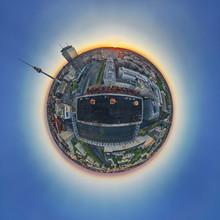 André Stiebitz, Berlin Alexanderplatz 1 Skyline Panorama Planet (Deutschland, Europa)