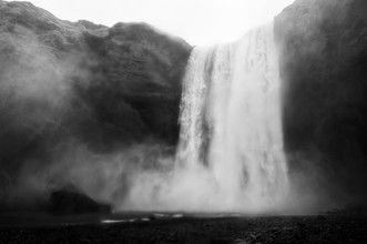 Power & Beauty - Iceland - fotokunst von Laura Droße
