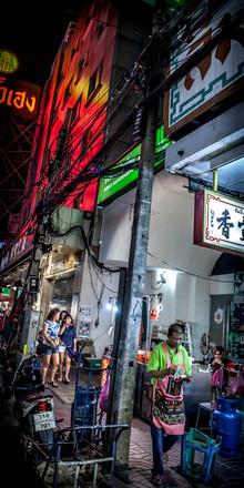 Jörg Faißt, Nightlife Chinatown 8 (Bangkok) (Thailand, Asia)