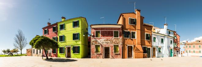 Michael Stein, Bunte Häuser in Burano (Italien, Europa)