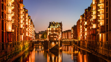 Michael Stein, Wasserschloss Speicherstadt in Hamburg (Germany, Europe)