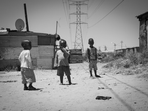 Dennis Wehrmann, Street photography at the streets of the Langa township in Cape Town South Africa (Südafrika, Afrika)