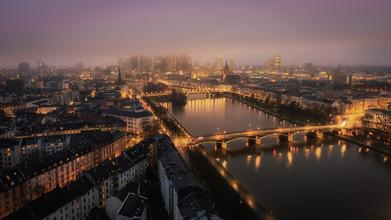 Dennis Wehrmann, Cityscape Frankfurt Skyline (Deutschland, Europa)