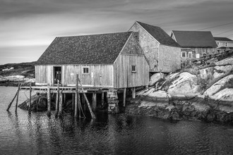 Jörg Faißt, Fishing Hut in Nova Scotia (Canada, North America)