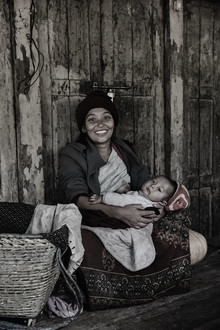 Jan Møller Hansen, Mother and child (Nepal, Asien)