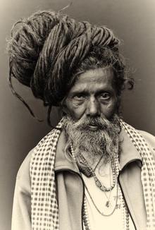 Jan Møller Hansen, The holy man (Nepal, Asia)