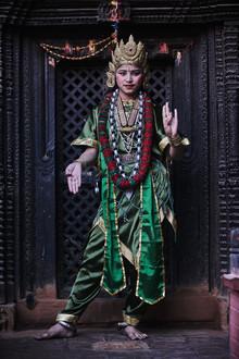 Jan Møller Hansen, Newari girl (Nepal, Asia)