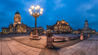 Jean Claude Castor, Berlin - Gendarmenmarkt Panorama I (Germany, Europe)