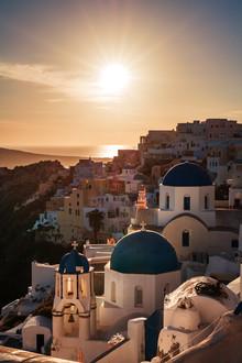 Jean Claude Castor, Santorini - Oia Classic I (Greece, Europe)