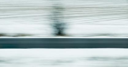 Robert B. Fishman, fliegende Winterlandschaft / flying Winter Landscape (Germany, Europe)