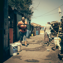 Dennis Wehrmann, Streetphotography township Langa | Cape Town | South Africa 2015 (South Africa, Africa)