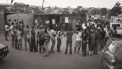 Dennis Wehrmann, Streetphotography township Katututra | Windhoek | Namibia 2015 (Namibia, Afrika)