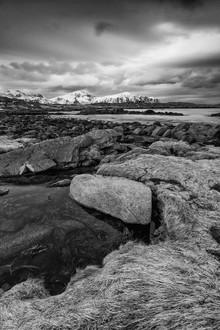 Eva Stadler, Water, rock and grass // Lofoten islands, Norway (Norwegen, Europa)